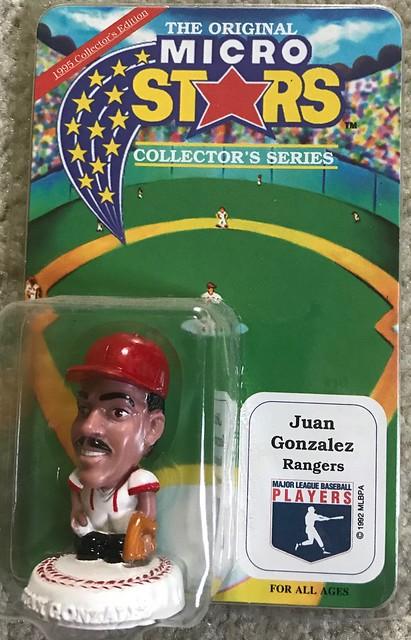1994 MLB Microstars - Juan Gonzalez