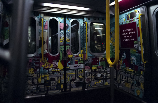 Subway Car Artwork