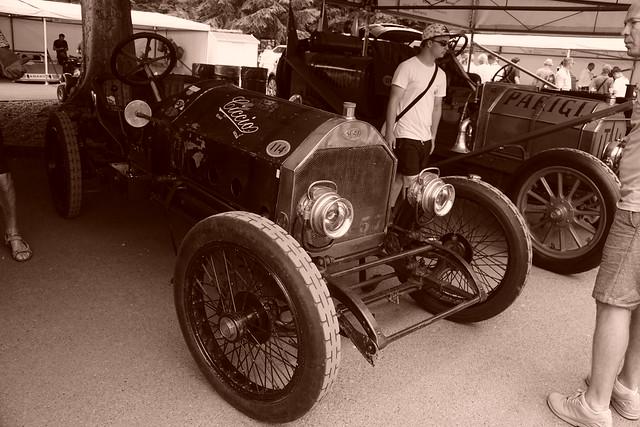 Scat Type C Racer Targa Florio 4.4-litre Four-Cylinder 1911, 125 Years of Road Racing, Speed Kings, Motorsport's Record Breakers, Goodwood Festival of Speed (7)
