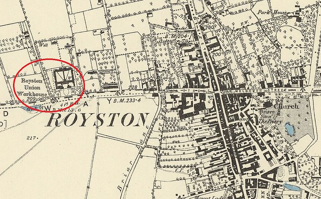Royston workhous map