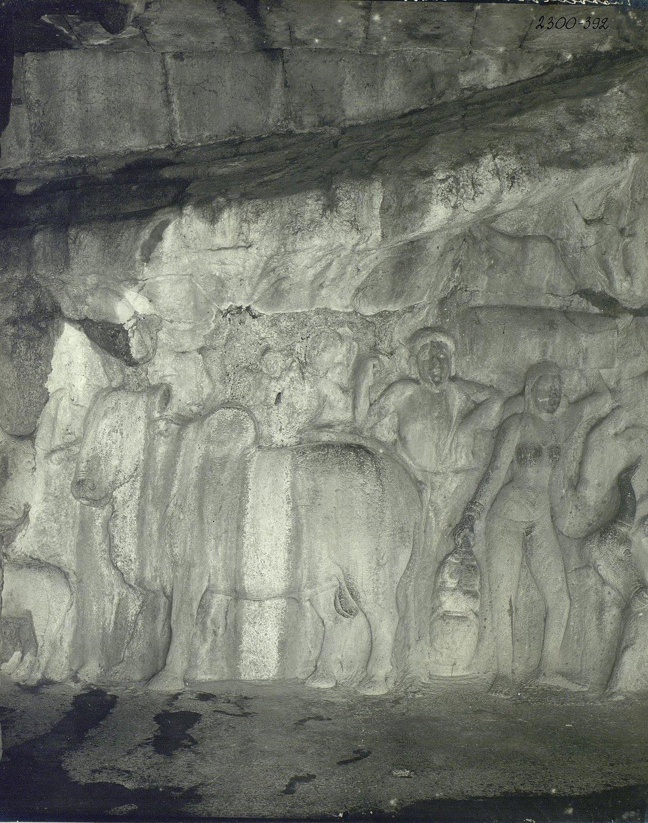 Мамаллапур (деталь рельефа с быком) (2)