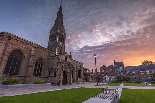 Leicester Cathedral Sunrise