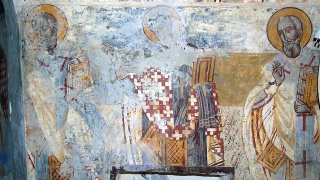 Οι τοιχογραφίες του καθολικού του μοναστηριού του Ασωμάτου Αρχαγγέλου Μιχαήλ στη Βαυκερή Λευκάδας