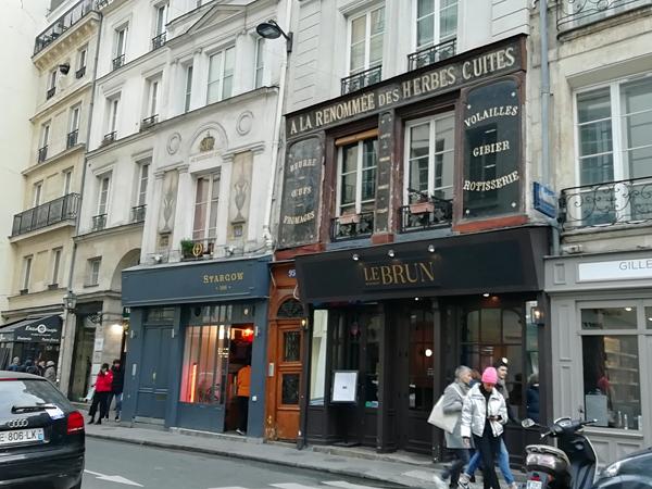 le brun, Paris