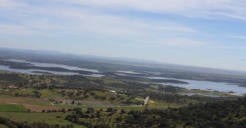 Guadiana, lago Alqueva e observatorio astronómico