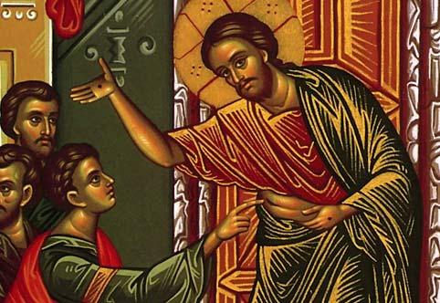 Jesús muestra a los suyos su carne herida y vencedora