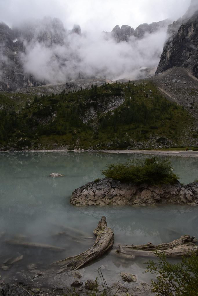 Lago de Sorapis.  Dolomitas orientales. 49822164741_f834827dac_b