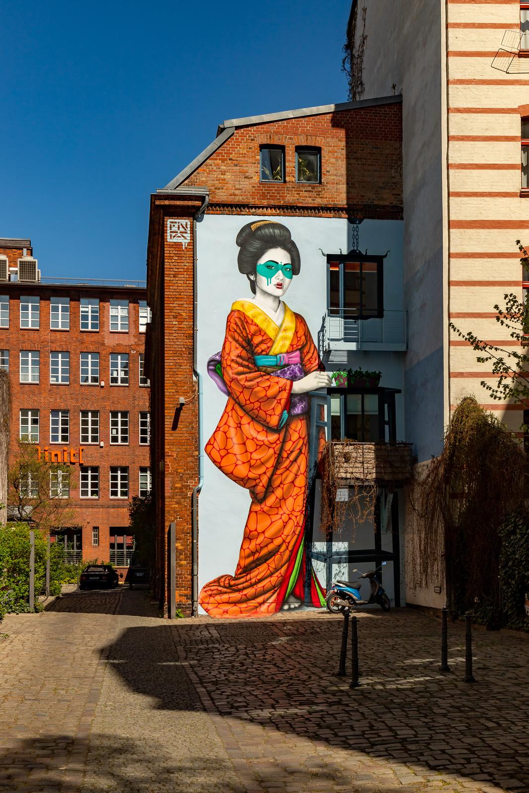 Wandbild in der Köpenicker Straße 9