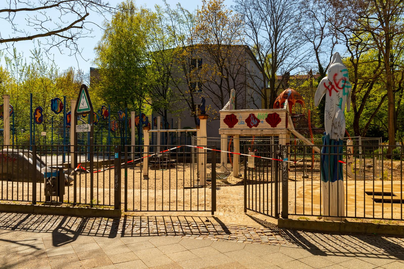 Spielplatz in der Wrangelstraße