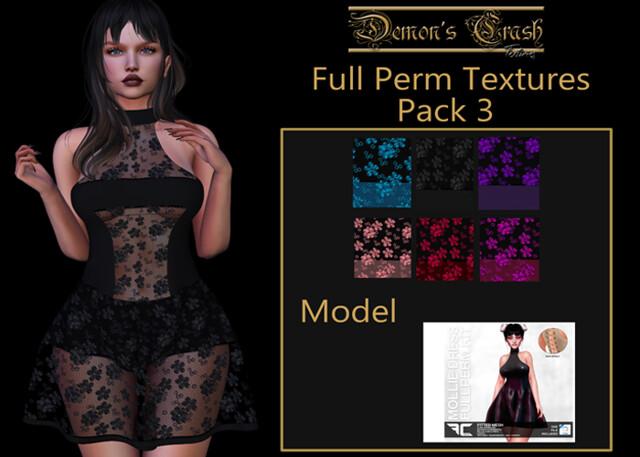 [DC] Textures – FLECHA Mollie Dress Fullperm 3