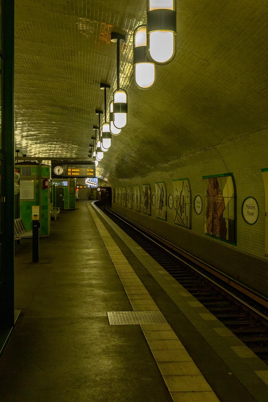 Der U-Bahnhof Märkisches Museum