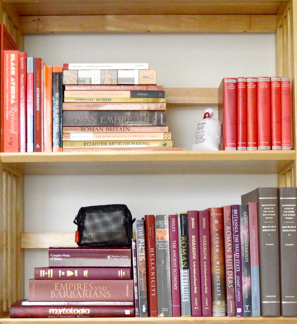 Shelves in Red