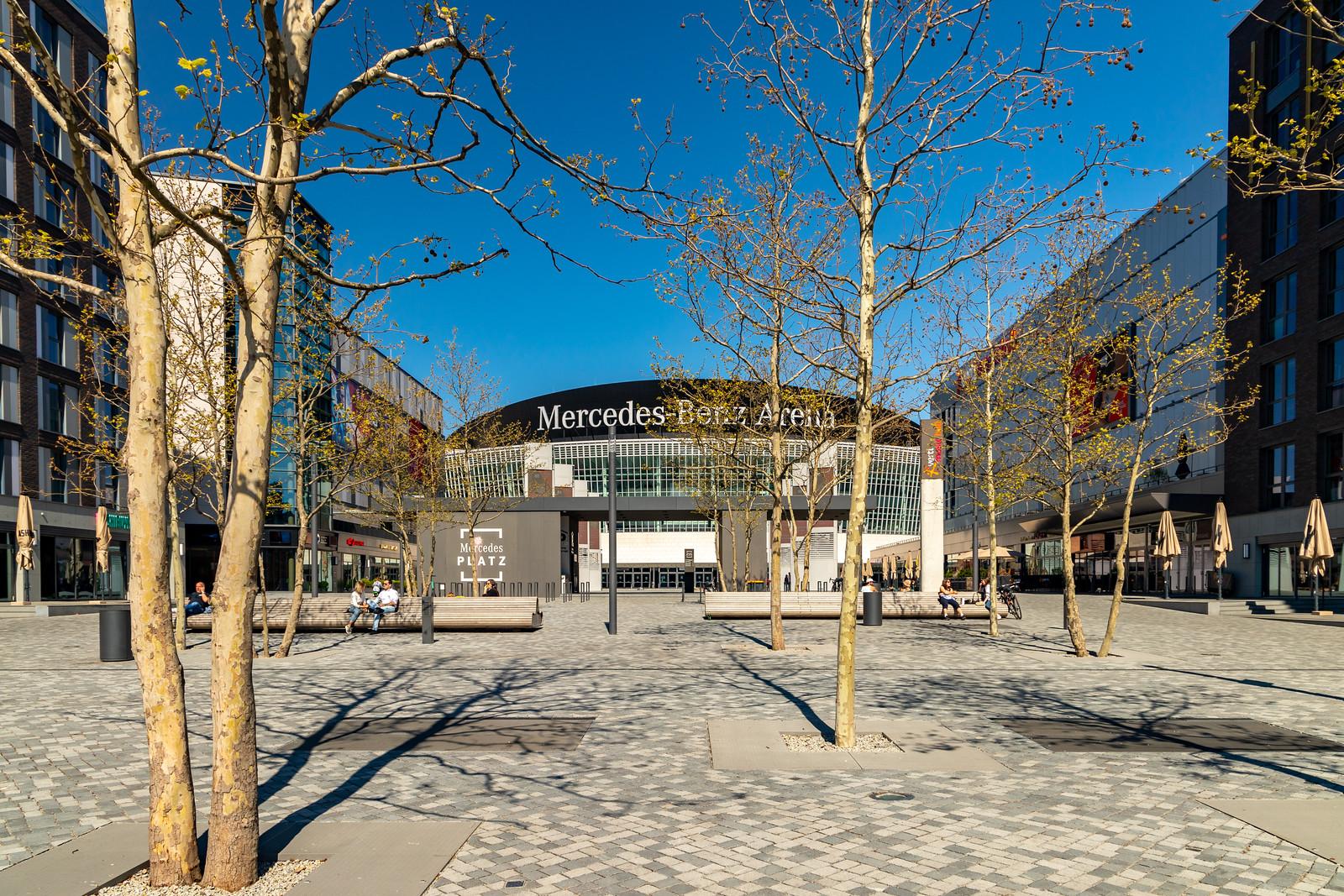 Der Mercedes-Platz