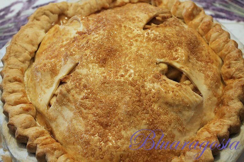 06-apple pie appena uscita dal forno
