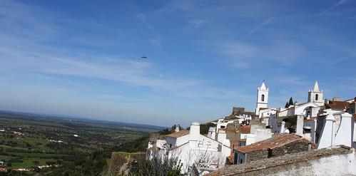 Monsaraz desde o Castelo