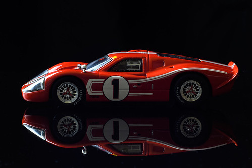 1:43 Scale Ford GT Mark IV