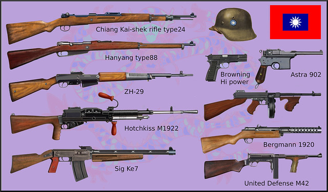 ww2 Chinese weapons