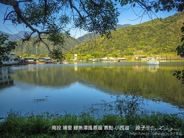 南投 埔里 鯉魚潭風景區 景點 小西湖