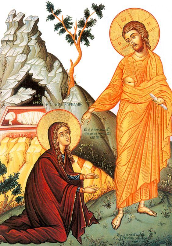 Jesús elige a una mujer como apóstol de sus apóstoles