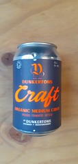 Dunkertons - Craft Organic Cider (330 ml can)
