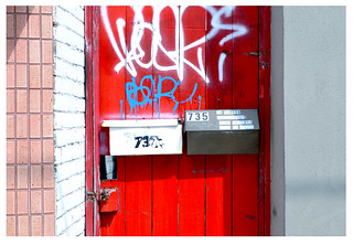 red gate at 735 | by mcfcrandall