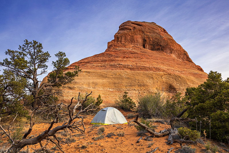 Mee Canyon Campsite Butte