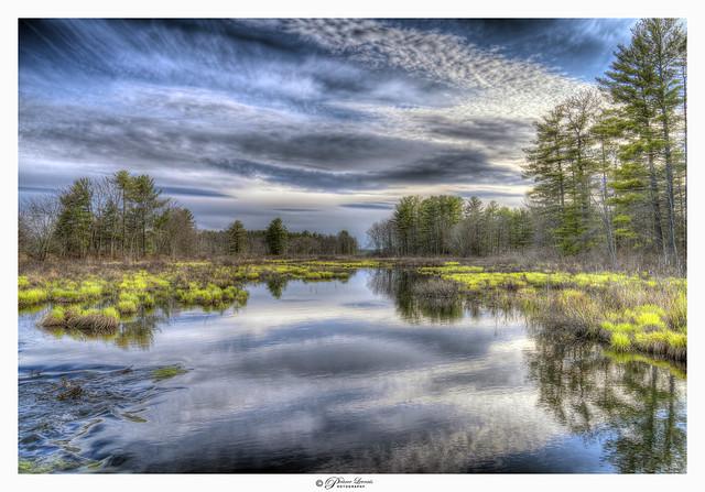 Pennichuck water way, Nashua, NH USA