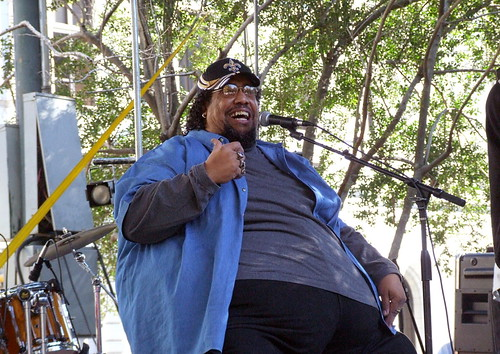 Big Al Carson at Crescent City Blues & BBQ Fest 2006. Photo by Demian Roberts.