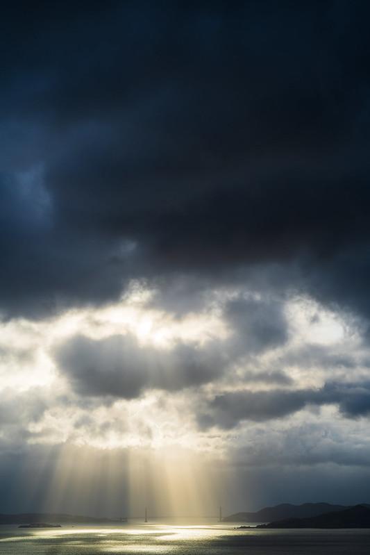 Cloud break.