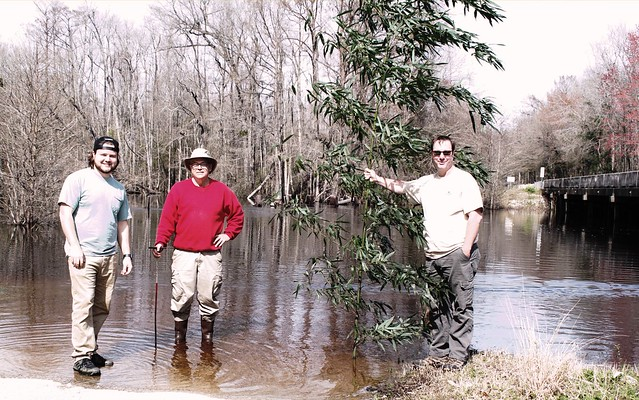 three botanists in February