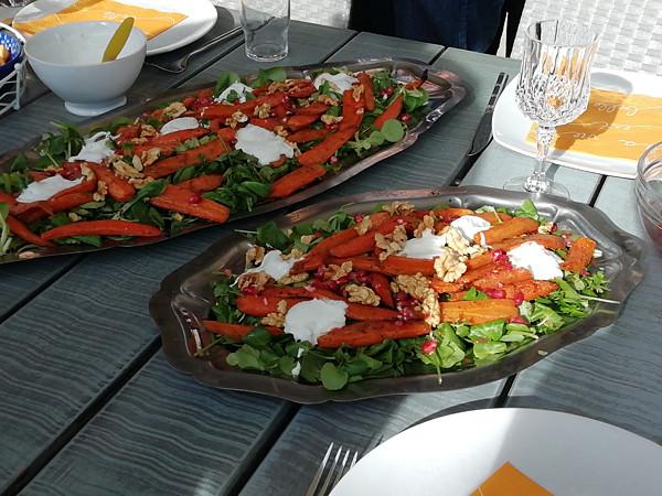 la salade de Kristina
