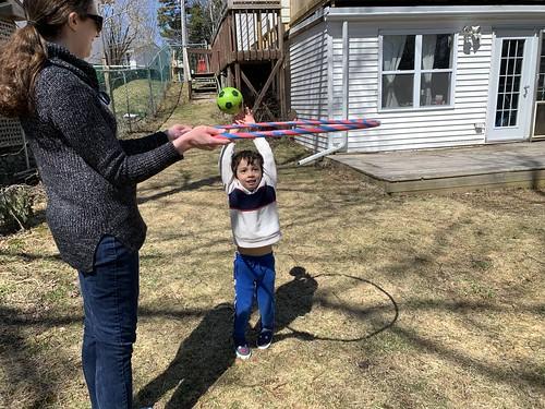 Shootin' hoops