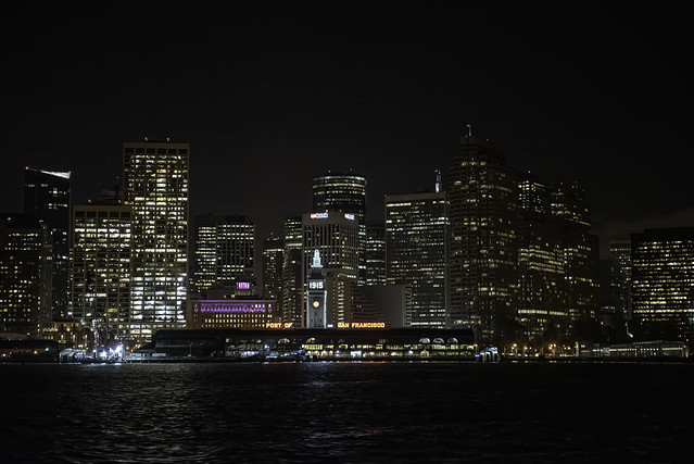 San Francisco Skyline from the Boat
