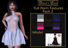[DC] Textures - FLECHA Mollie Dress Fullperm 2