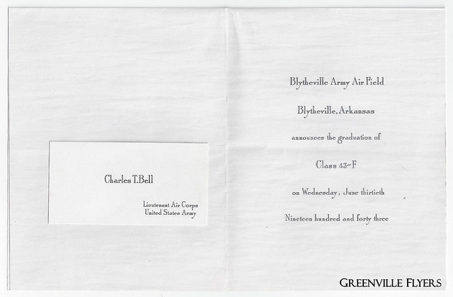 Charles T. Bell Graduation Announcement Inside