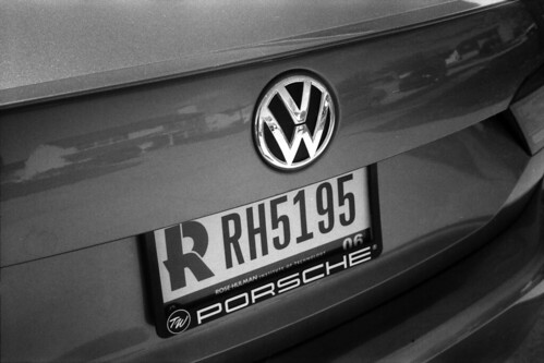 VW and license plate | by Jim Grey