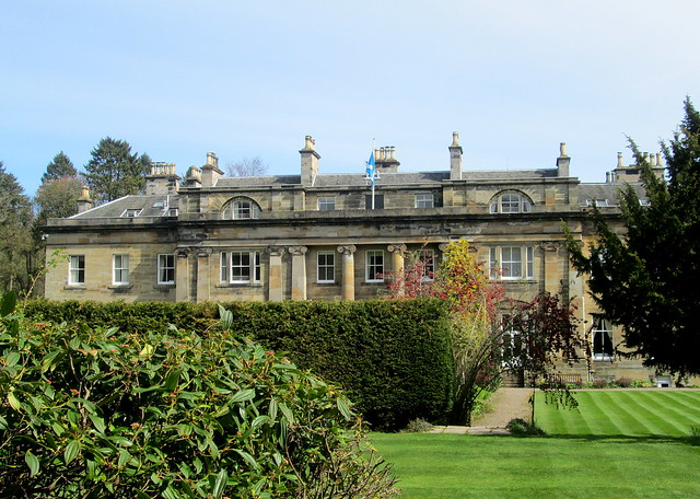 Balbirnie House Garden, Markinch, Fife, Scotland