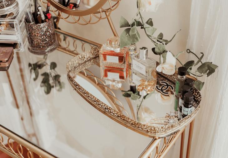 makeup vanity tray