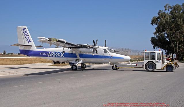 N181CS LMML 30-04-2010 ARKeX De Havilland Canada DHC-6-200 Twin Otter CN 181