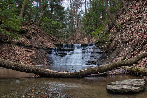 waterfall in hell hollow | by kevincarlvail