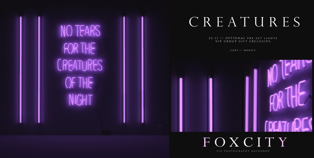 FOXCITY. VIP Photo Booth – Creatures