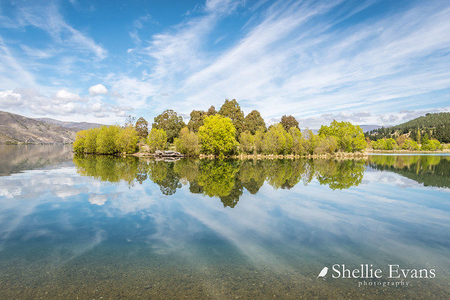 Lowburn Harbour Reflections, Lake Dunstan, Central Otago