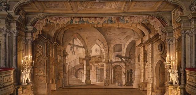 Teatro barroco de Cesky Krumlov (República Checa)