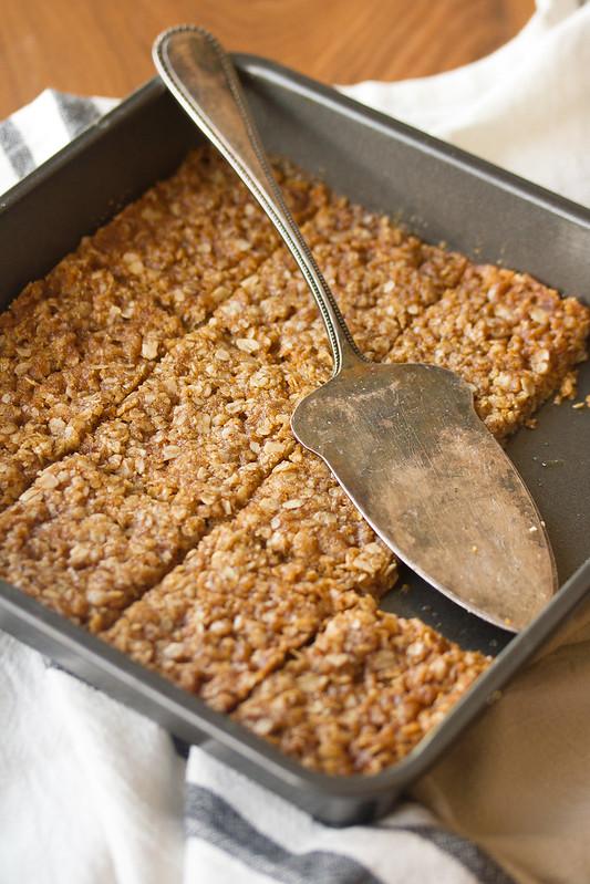 Pan of Butterscotch Oat Bars
