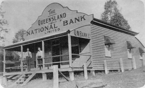 banks queensland australia kandanga verandas statelibraryofqueensland slq queenslandnationalbank