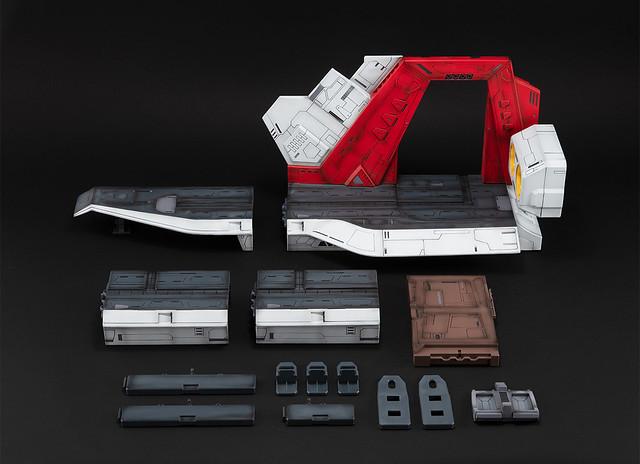 Realistic Model Series《機動戰士Z鋼彈》 1/144 HGUC用阿卡馬彈射甲板場景組(アーガマ カタパルトデッキ)