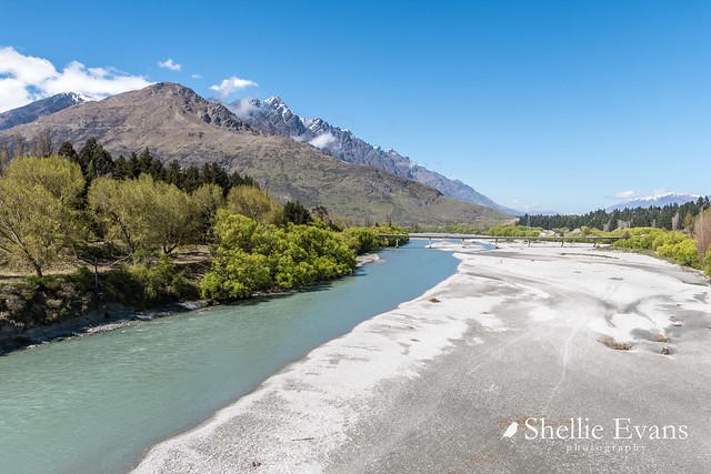 Lower Shotover River & The Remarkables, Queenstown, New Zealand