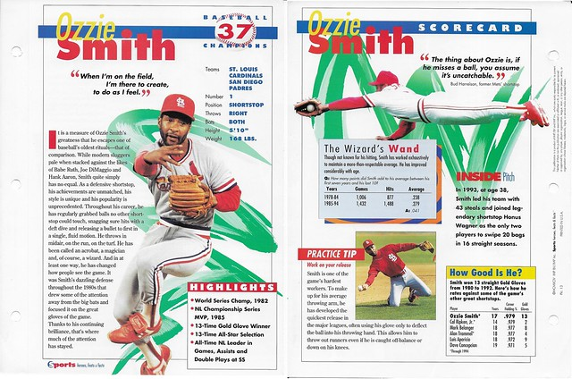 1994 ozzie smith baseball 13
