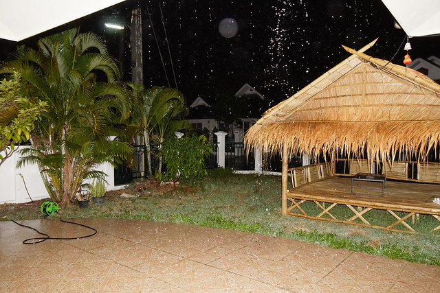 Sala under the rain