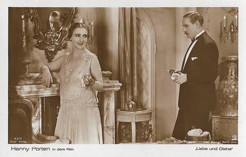 Henny Porten and Anton Poiner in Liebe und Diebe (1928)